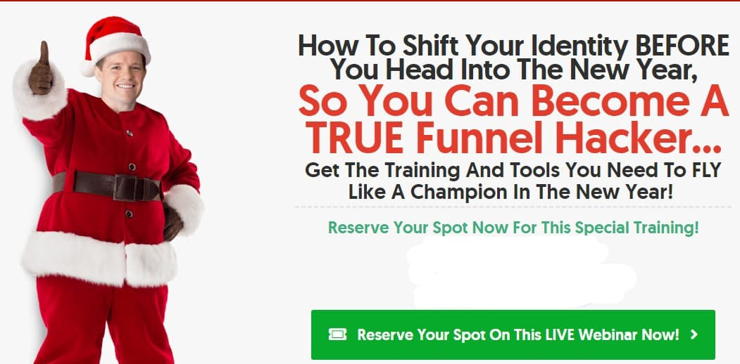 Clickfunnels Christmas Offer
